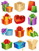 Gifts — Stockvector