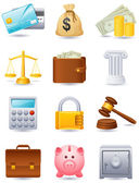 Finance icon — Stock Vector