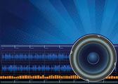 Sound — Vector de stock