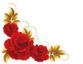 Róże — Wektor stockowy