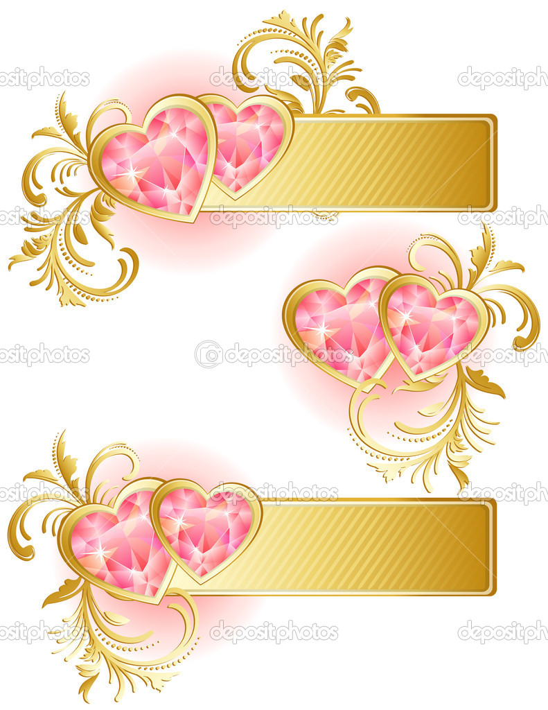 Vector illustration - valentine's day background  Stock Vector #2013989