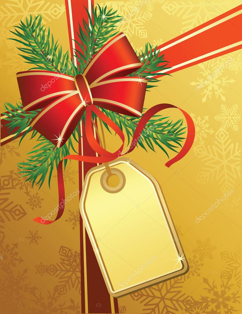 Vector illustrations - christmas gift  Stock Vector #2014937
