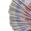 Стоковое фото: Lot of Euro banknotes money