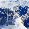 Ski funicular — Stock Photo
