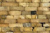 стеновой камень — Стоковое фото