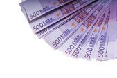 Argent billets en euro — Photo