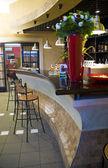 Bar in café — Stockfoto