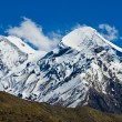 Snowy peaks — Stock Photo