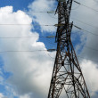 Stock Photo: High voltage tower