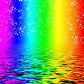 Rainbow colored texture — Stock Photo