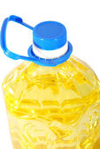 Sunflower oil canister — Stock Photo