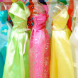 Colored dresses — Stock Photo