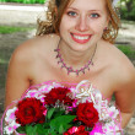 Happy pretty bride — Stock Photo #1929505