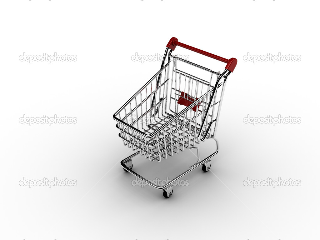 Shopping cart 1 — Stock Photo #1872682