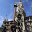 Marienplatz munich — Stock Photo