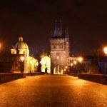 Prague night view — Stock Photo