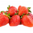 Stock Photo: Sweet red fresh strawberry