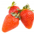 Stock Photo: Isolated sweet red fresh strawberry