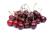 Isolated sweet red cherry — Stock Photo