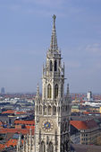Munich tower — Stock Photo