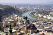 Historical center of Salzburg, Austria — Stock Photo