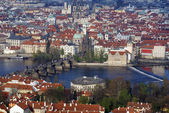 View of historical center of Prague — Stock Photo