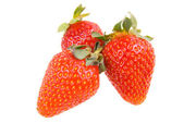 Isolated sweet red fresh strawberry — Stock Photo