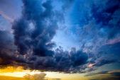 Dramatic sky — Stock Photo