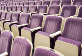 Seats in theatre — Stock Photo