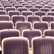 Comfortable seats in theatre — Stock Photo