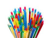 Many cocktail straws — Stock Photo