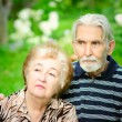 Royalty-Free Stock Photo: Two pensioners