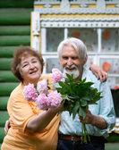 Dos jubilados — Foto de Stock