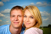 Enamoured couple — Stock Photo