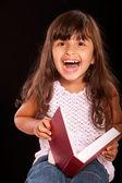 Portrait of small girl — Stock Photo