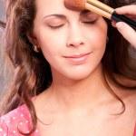 Make-up drawing — Stock Photo
