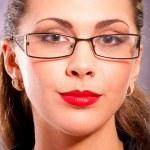 Portrait of charming brunette — Stock Photo