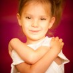 Portrait of little girl — Stock Photo #1611934
