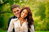 Uomo e donna — Foto Stock
