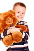 Portrait of small boy — Stock Photo