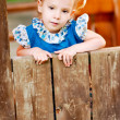 Portrait of little girl — Stock Photo #2587914
