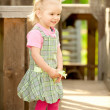 Portrait of little girl — Stock Photo #2588131