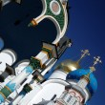 Uspensky Church Sergius Lavra — Stock Photo #2588820