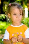 子供の肖像画 — ストック写真