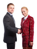 Partners in business — Stock Photo