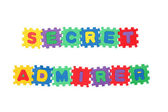 SECRET ADMIRER — Stock Photo