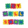 Stock Photo: GET WELL SOON