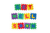 GET WELL SOON — Stock Photo