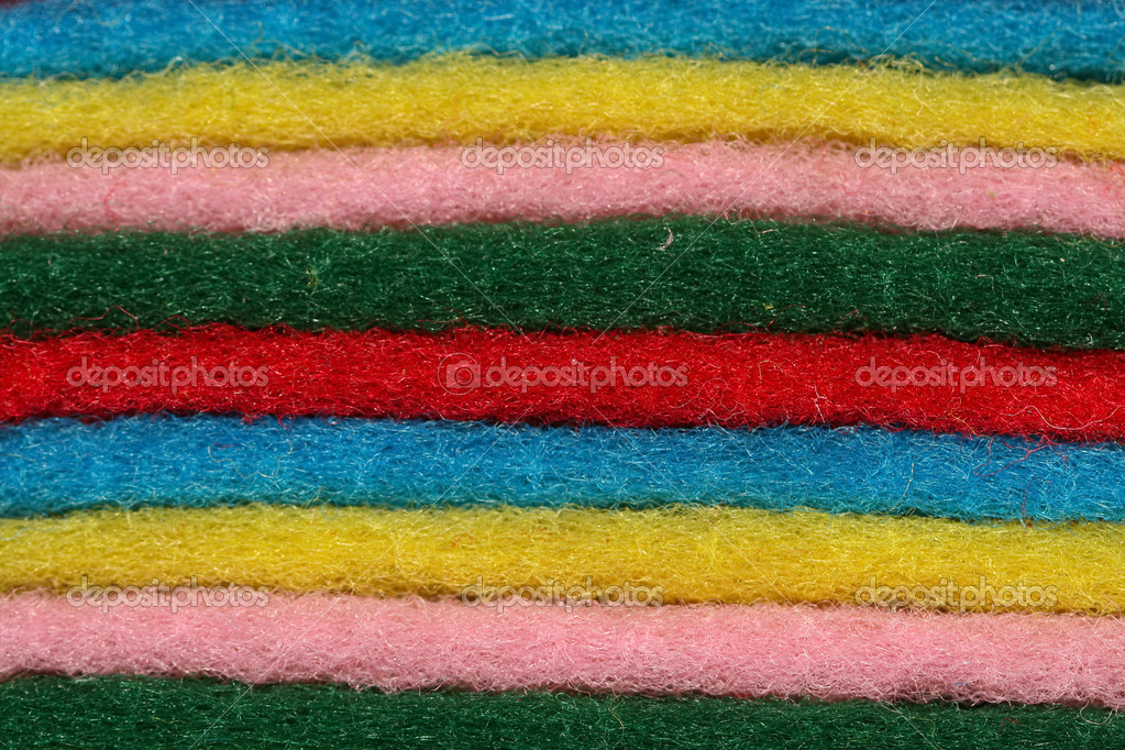 Closeup shot of Scouring fleece in different color. — Stock Photo #1999083
