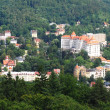 Karlovy Vary view - Stockfoto